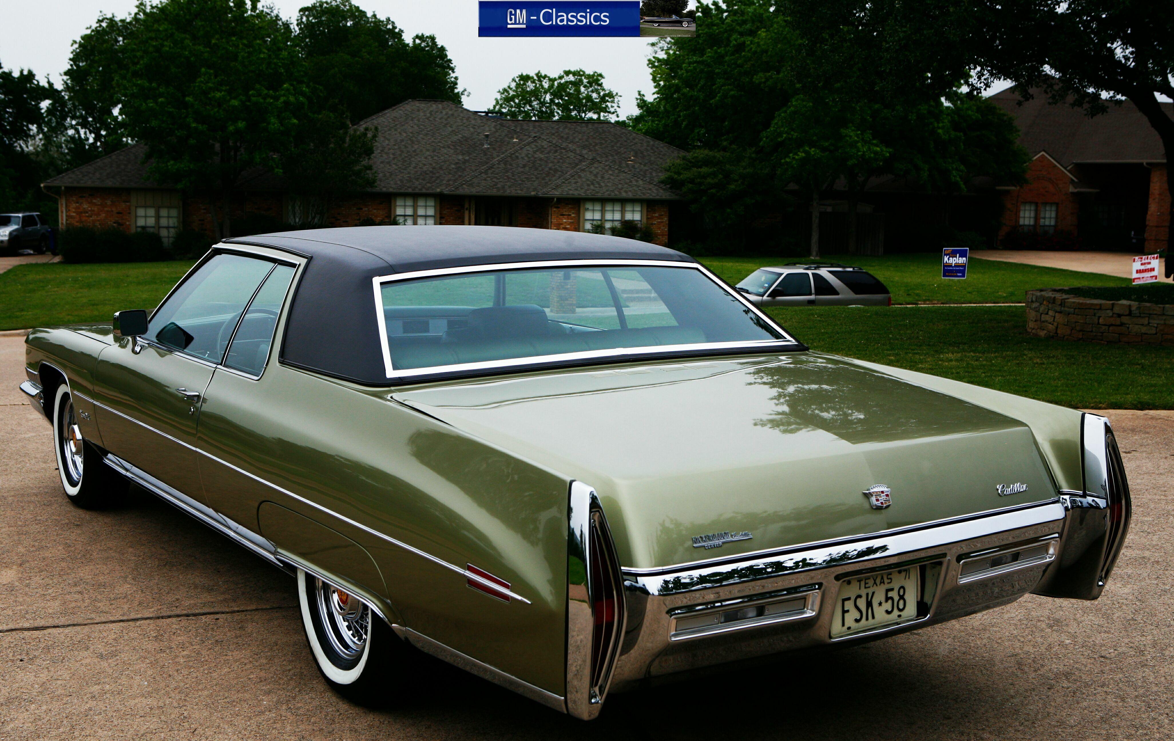 1971 Cadillac Coupe Deville - Matt Garrett