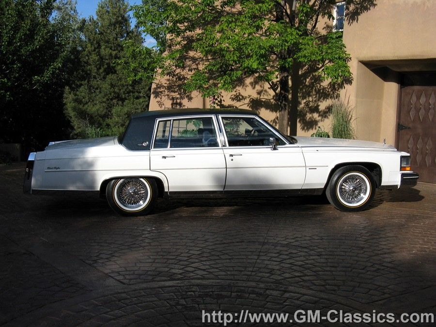 1982 Cadillac Fleetwood Brougham - Matt Garrett