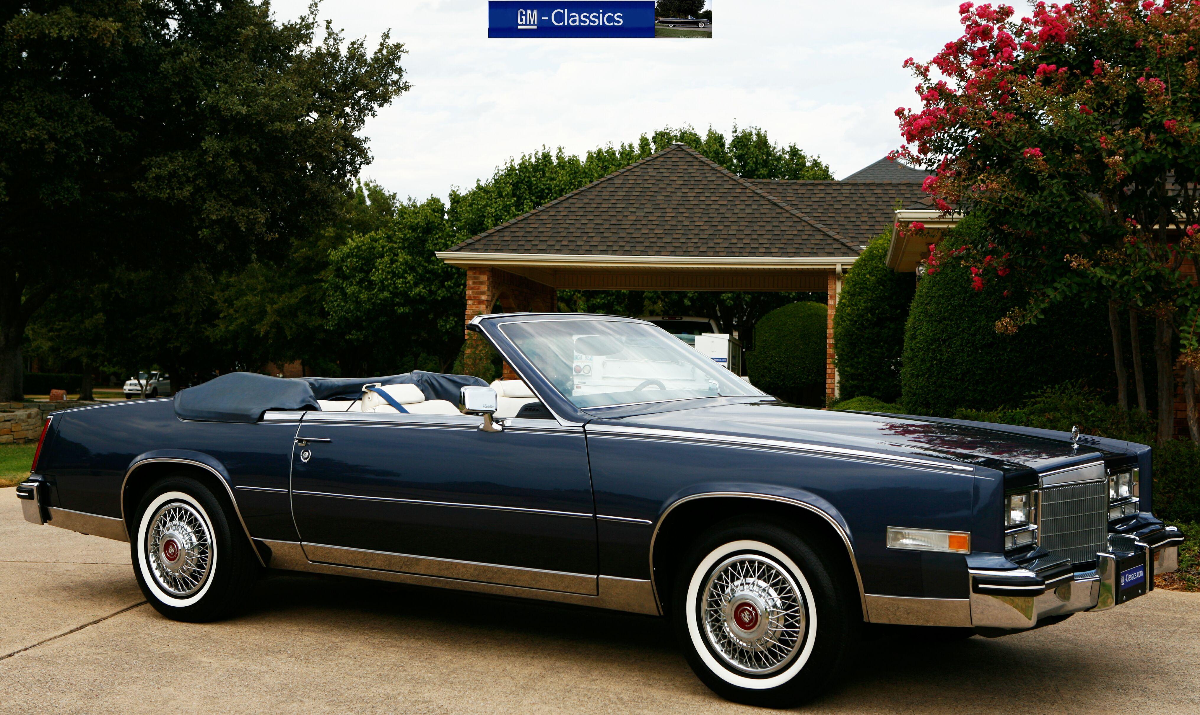 1985 Eldorado Biarritz >> Matt Garrett 1984 Cadillac Eldorado Biarritz Convertible | Autos Post