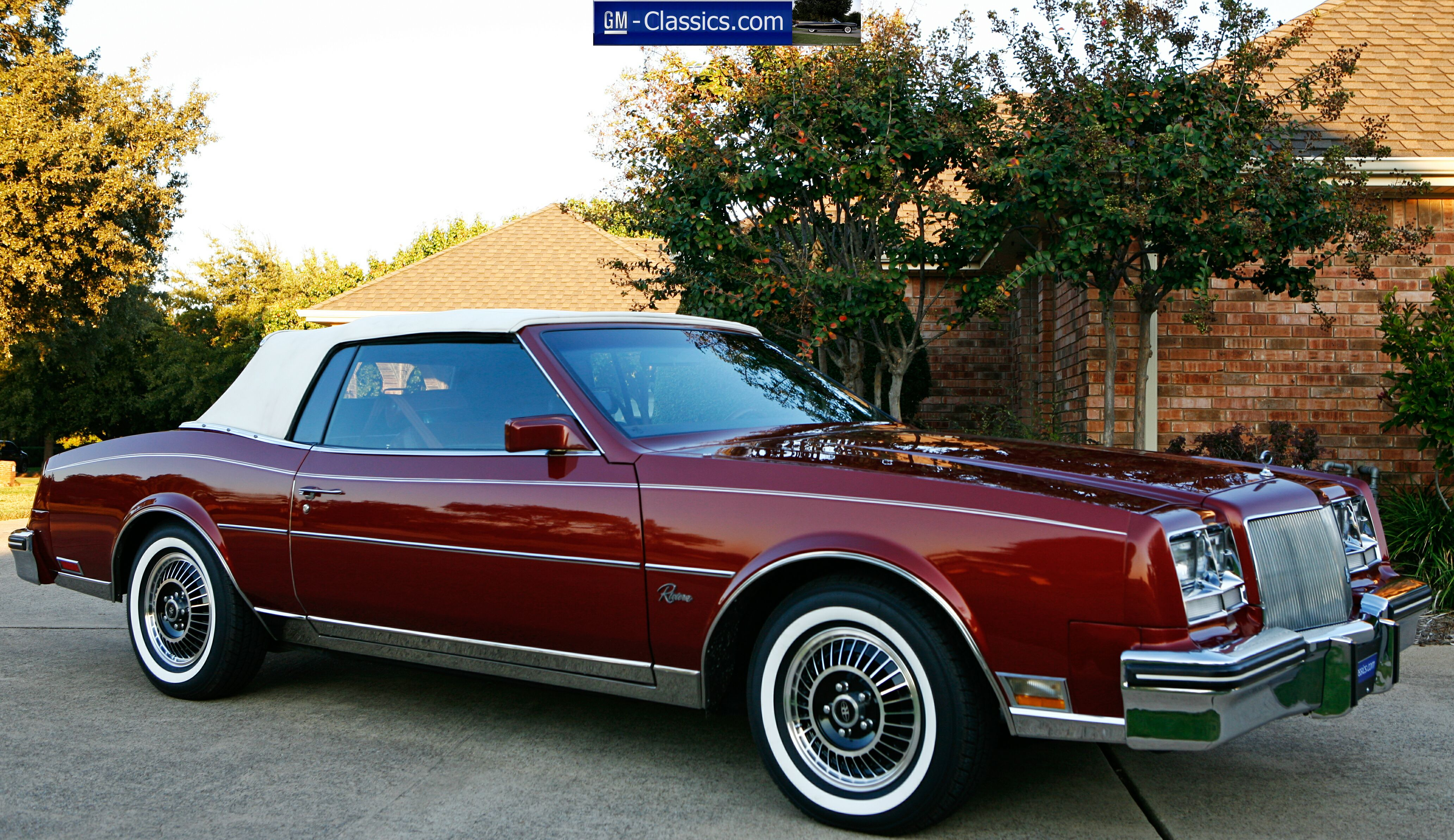 Click Here For My Car Hobby Home Page 1984 Buick Riviera Convertible