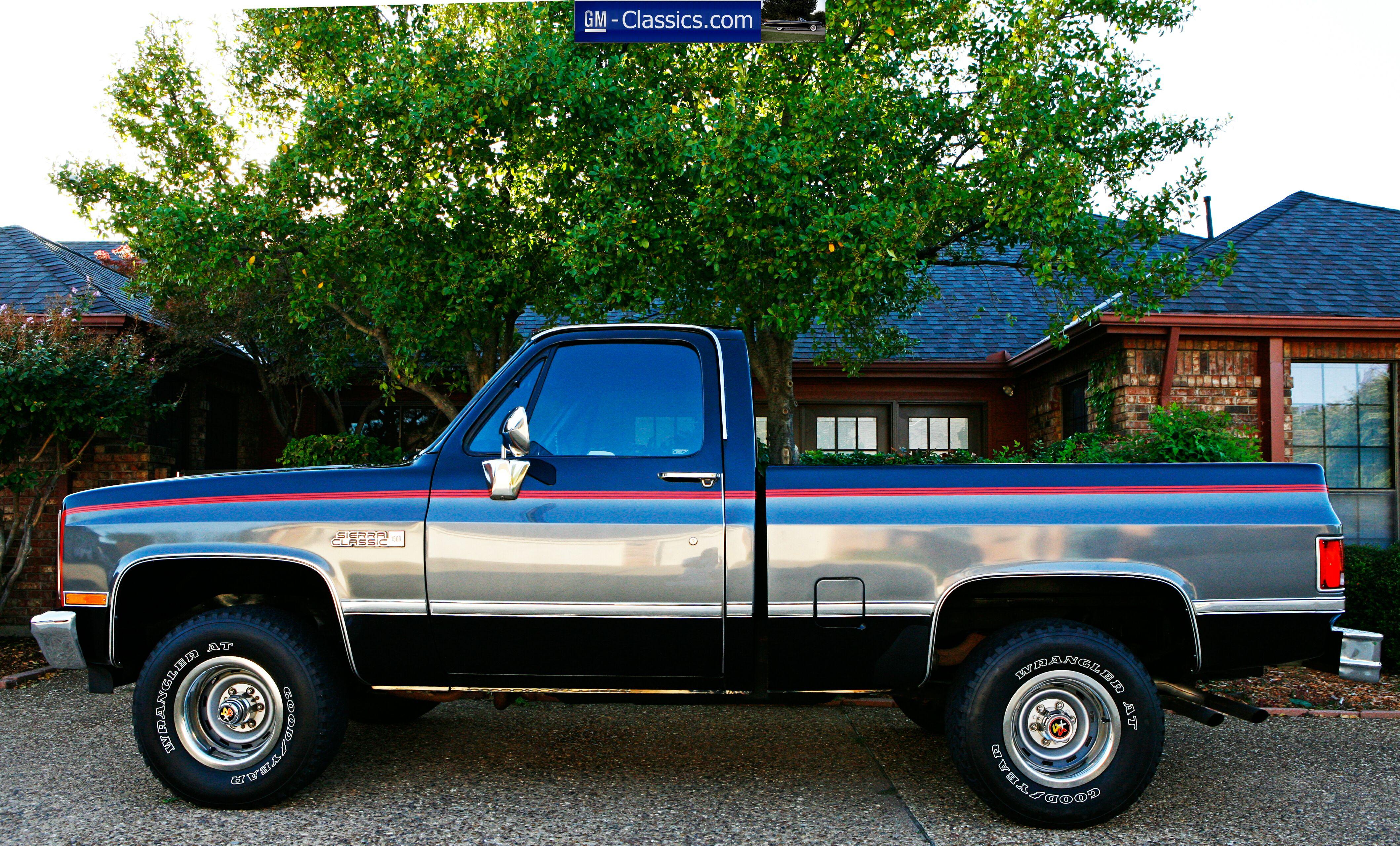 Gmc Truck For Sale >> 1987 GMC Sierra Classic - Matt Garrett