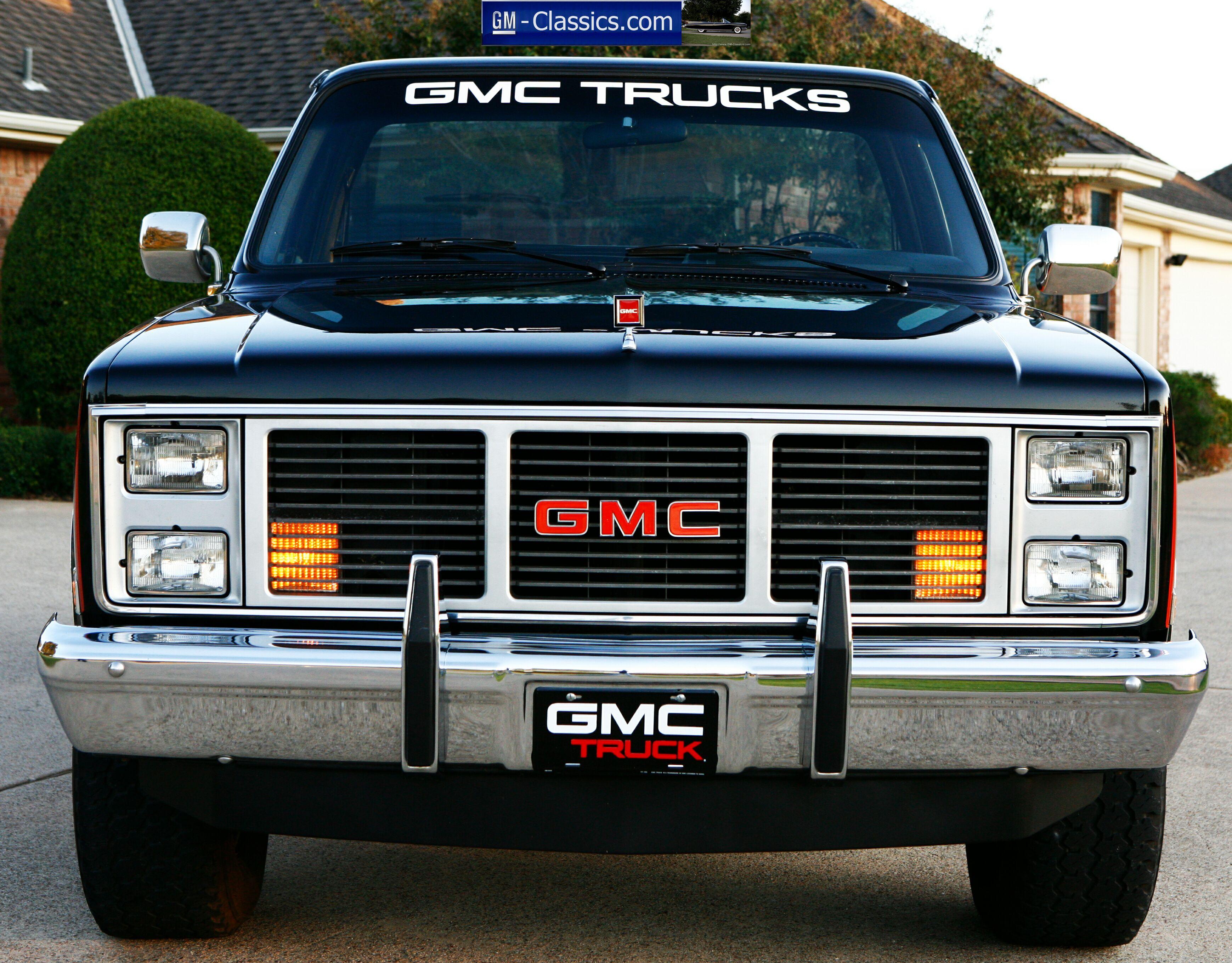 1987 GMC Sierra Classic - Matt Garrett