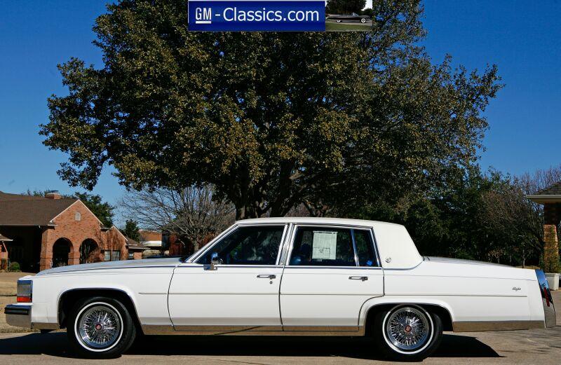 1988 Cadillac Fleetwood Brougham Matt Garrett