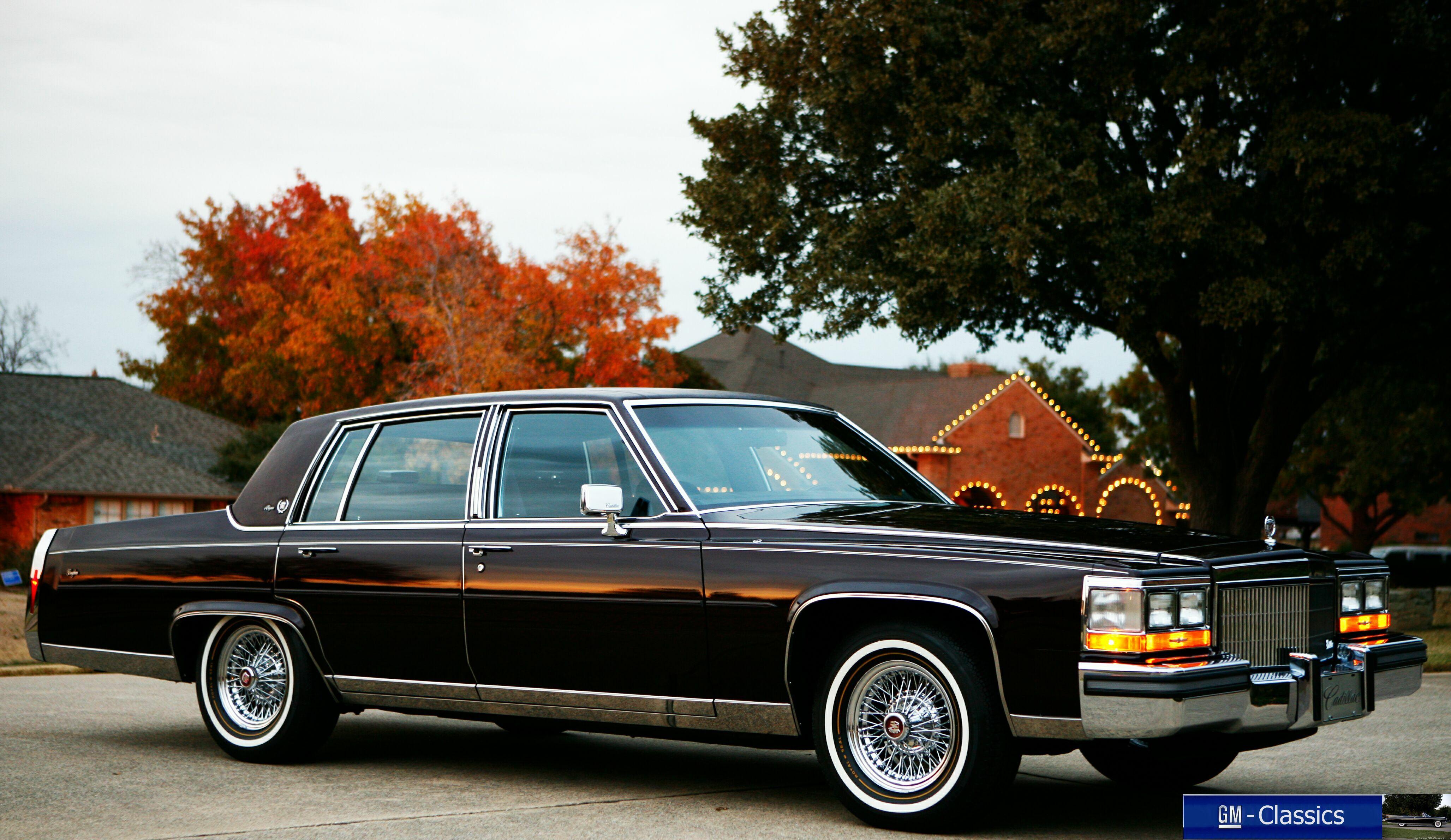 1989 Cadillac Fleetwood Brougham Matt Garrett
