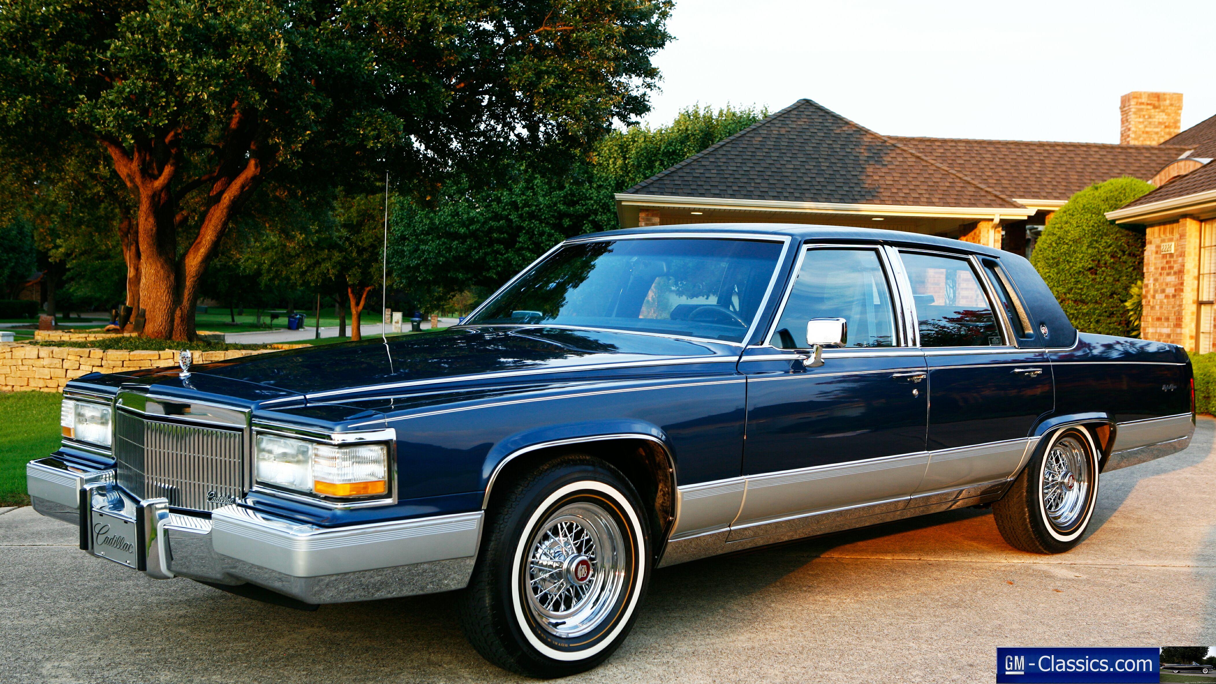 1990 Cadillac Fleetwood Brougham - Matt Garrett