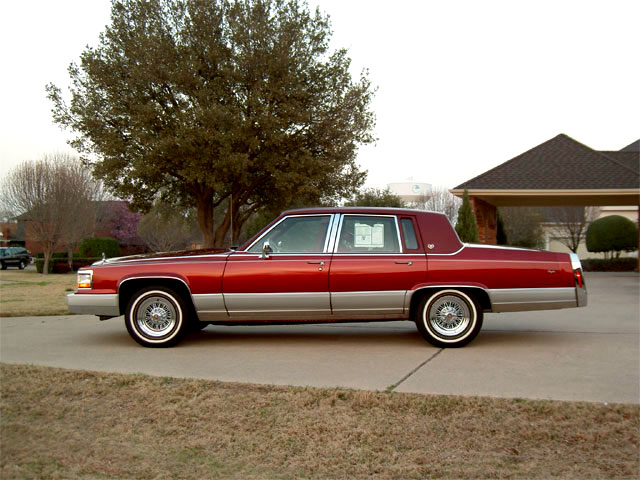 1992 Cadillac Brougham 57 Liter Home Page