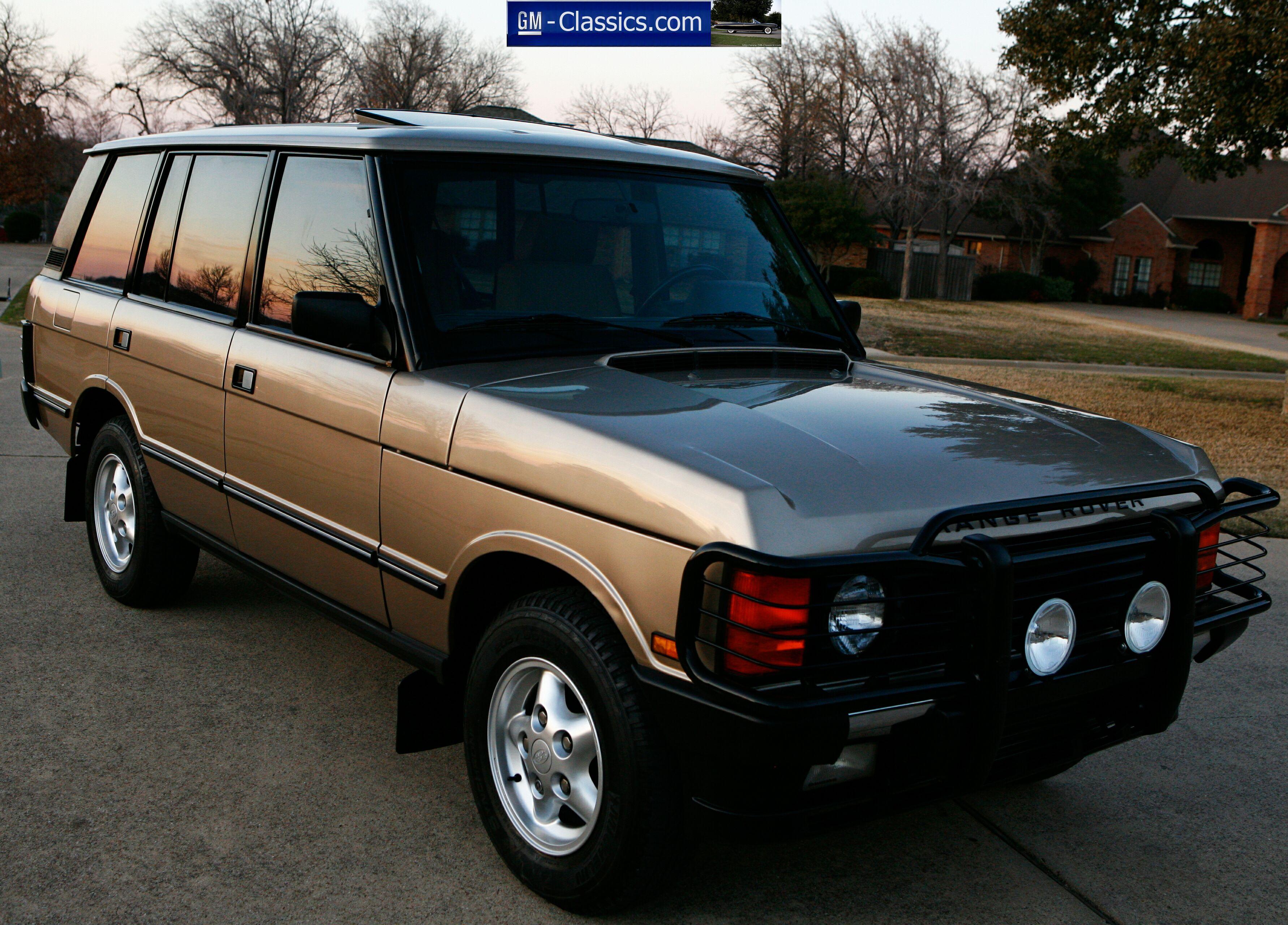 Range Rover Dallas >> 1995 Range Rover County LWB - Matt Garrett