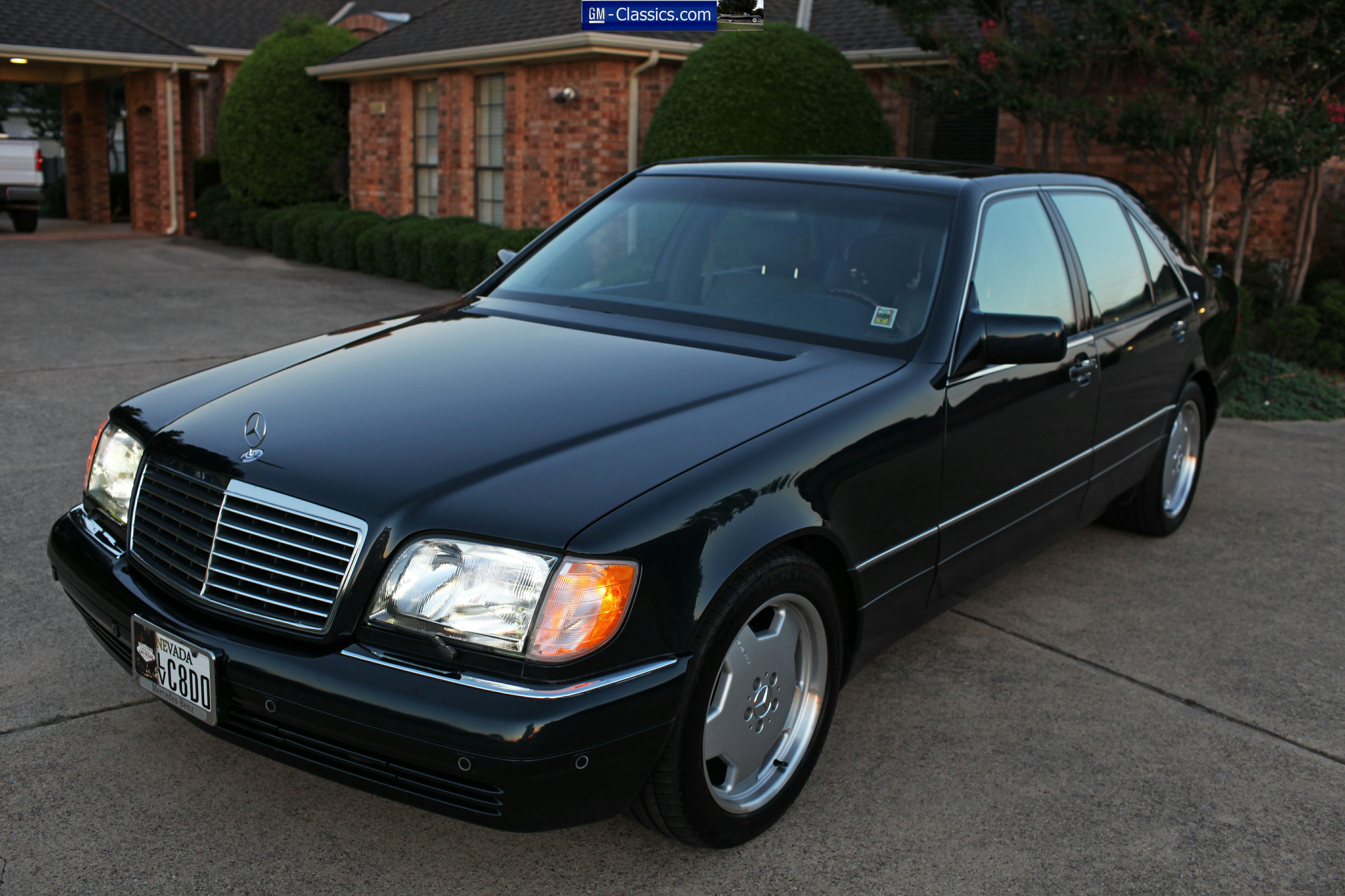 Mercedes Benz S600 Matt Garrett