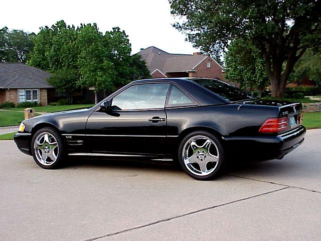Mercedes SL600 V12 Home Page